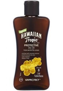 HAWAIIAN TROPIC BRONZING OIL - 100ml FPS 8